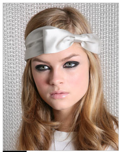 Eugenia Kim Silk Bow Headband