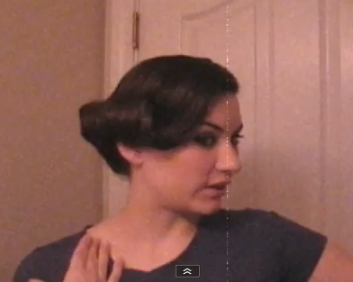 pin curls hairstyle. pin curls hairstyles.